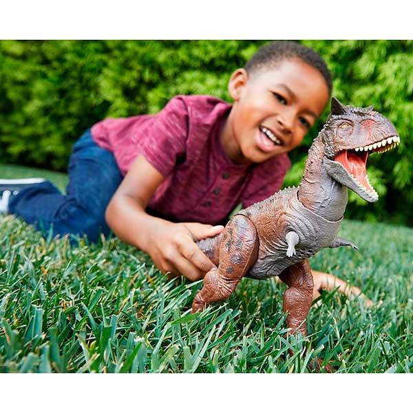 Jurassic World Figura Dinosaurio Carnotaurus Toro N Conquer - Imagen 1