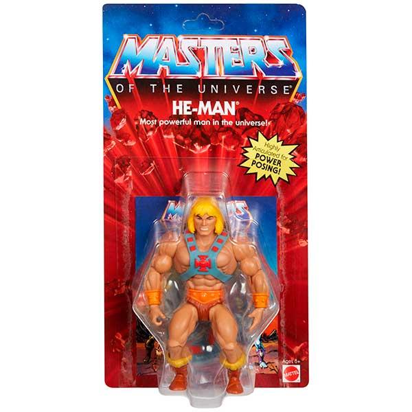 Masters del Universo Figura He-Man 14cm - Imagen 6