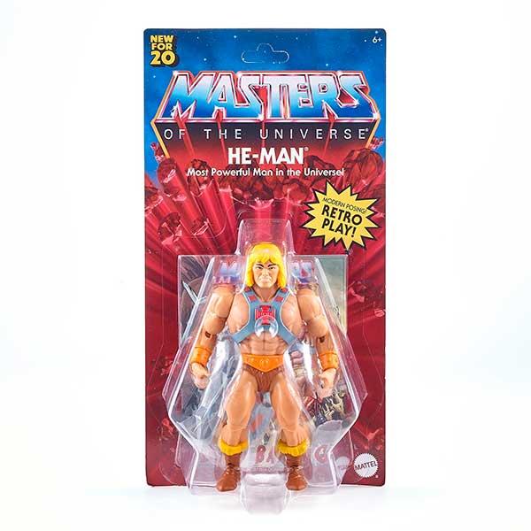Masters del Universo Figura He-Man 14cm - Imagen 7
