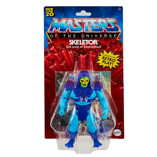 Masters del Universo Figura Skeletor 14cm - Imagen 5