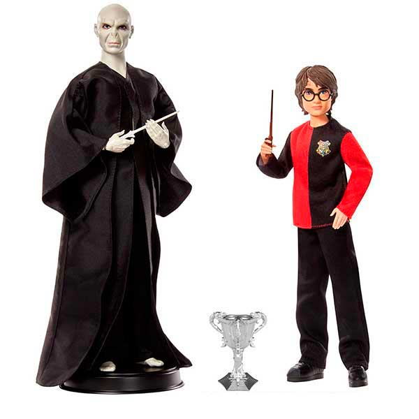 Pack Figuras Harry Potter vs Voldemort 30cm