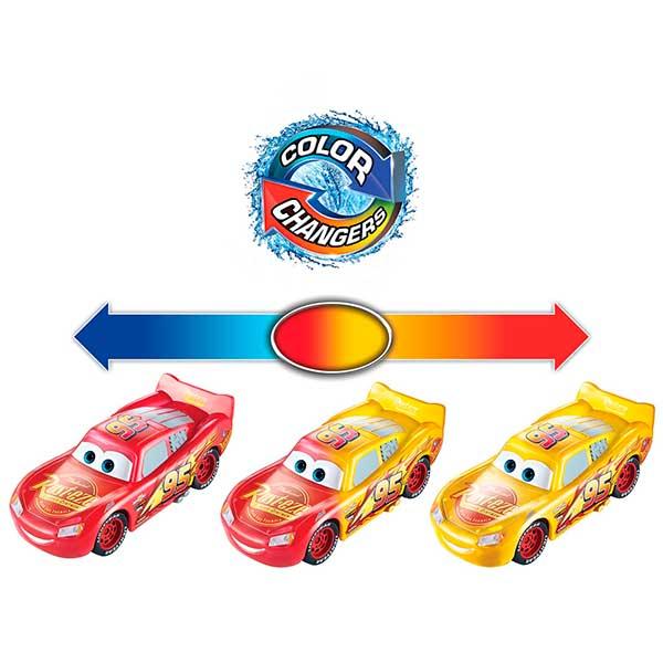 Cars Coche Rayo McQueen Color Changers - Imagen 1
