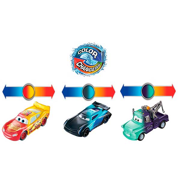 Cars Coche Bobby Swift Color Changers - Imagen 1