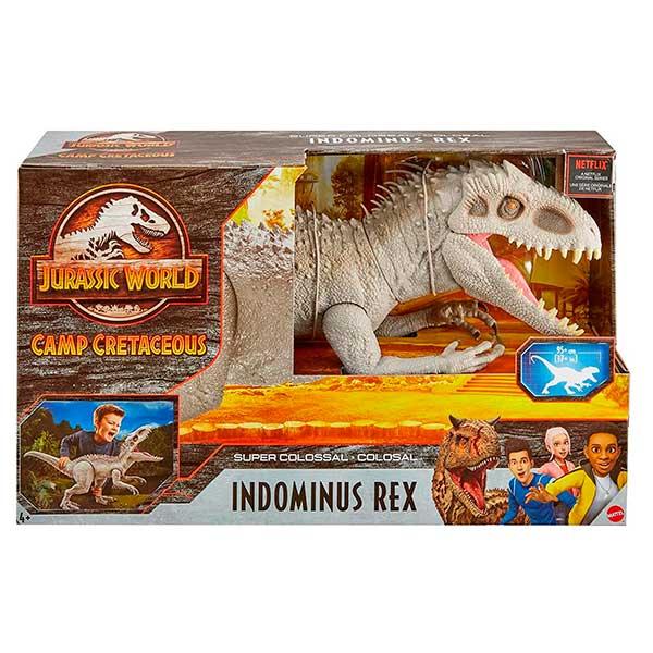 Jurassic World Figura Dinosaurio Indominus Rex Super Colossal
