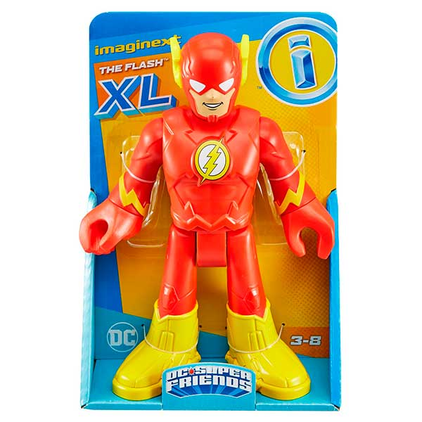 Imaginext DC Figura Flash XL - Imagen 1