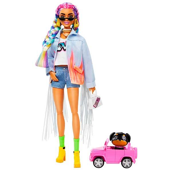 Barbie Extra Trenzas De Colores #5 - Imagen 1