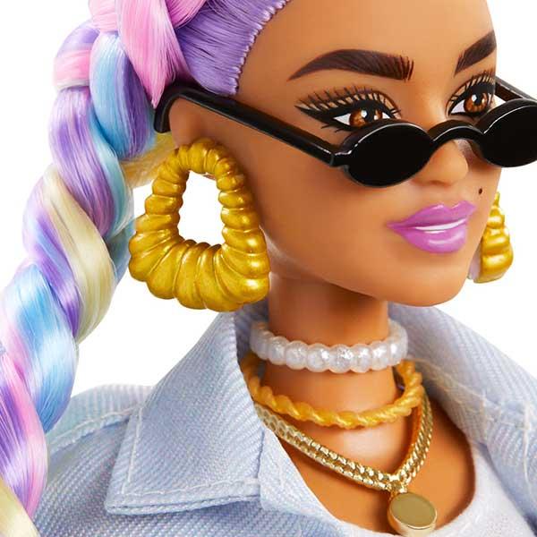 Barbie Extra Trenzas De Colores #5 - Imagen 2