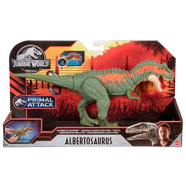 Jurassic World Dinosaurio Albertosaurus Mordedor Gigante - Imagen 5