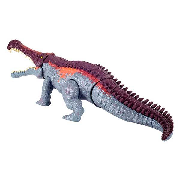 Jurassic World Dinosaurio Sarcosuchus Mordedor Gigante - Imagen 4