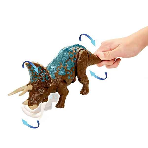 Jurassic World Dinosaurio Triceratops Ruge y Ataca - Imagen 3
