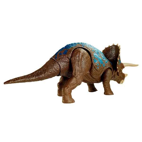 Jurassic World Dinosaurio Triceratops Ruge y Ataca - Imagen 4
