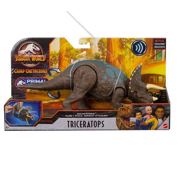 Jurassic World Dinosaurio Triceratops Ruge y Ataca - Imagen 5