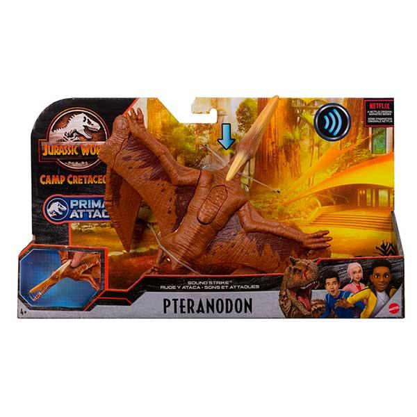 Jurassic World Dinosaurio Pteranodon Ruge y Ataca - Imagen 6