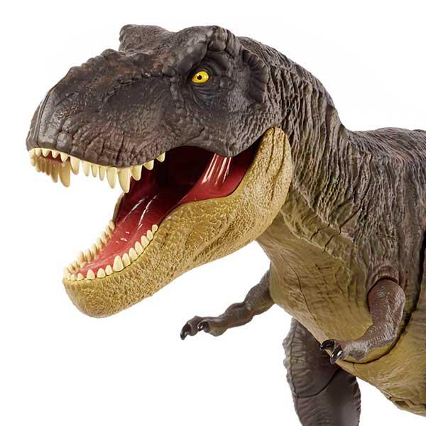 Jurassic World Dinosaurio T-Rex Pisa y Ataca - Imagen 1