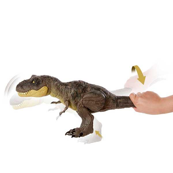Jurassic World Dinosaurio T-Rex Pisa y Ataca - Imagen 3