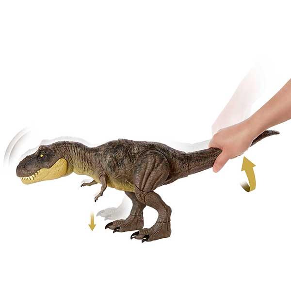 Jurassic World Dinosaurio T-Rex Pisa y Ataca - Imagen 4