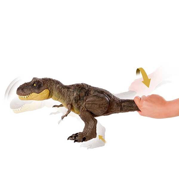 Jurassic World Dinosaurio T-Rex Pisa y Ataca - Imagen 5