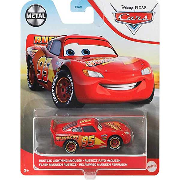 Cars Coche Rayo McQueen Rusteze 1:55 - Imagen 1