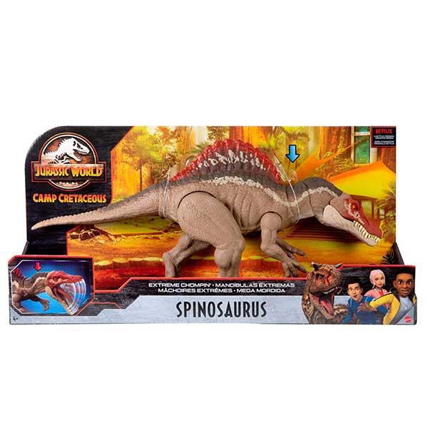 Jurassic World Dinosaurio Spinosaurus Masticador - Imagen 6
