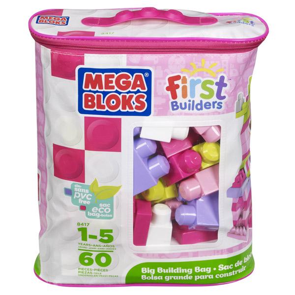 Bolsa 60p Maxi Bloques Rosa - Imatge 1