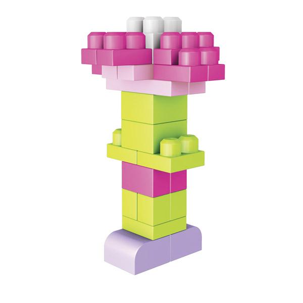 Bolsa 60p Maxi Bloques Rosa - Imatge 3