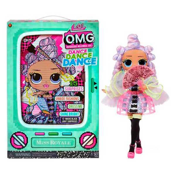 LOL Surprise OMG Dance Miss Royale - Imagen 1