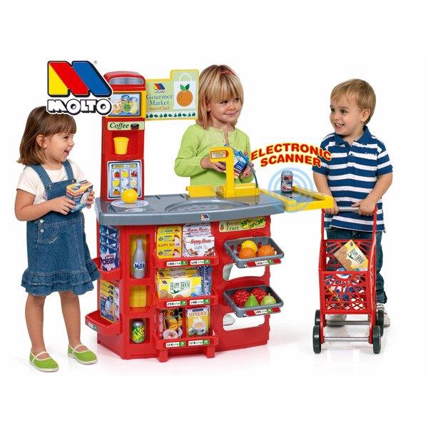 Supermercado Electrónico con Accesorios - Imagen 1