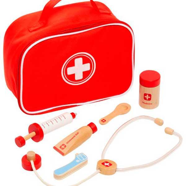 Maletín Médico con Accesorios de Madera - Imagen 1