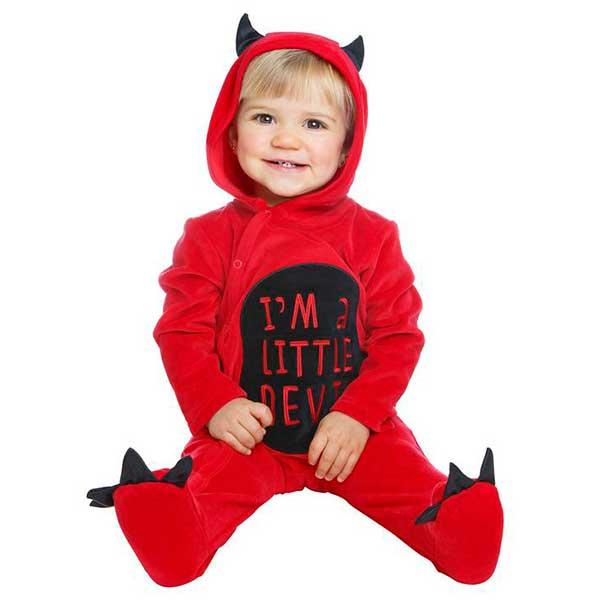 Disfraz Demonio Bebe 7-12 meses