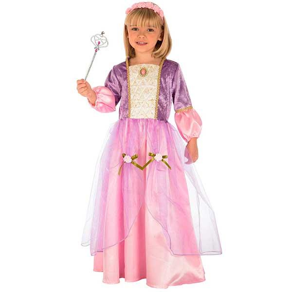 Disfraz Princesa Morada Infantil 7-9 años