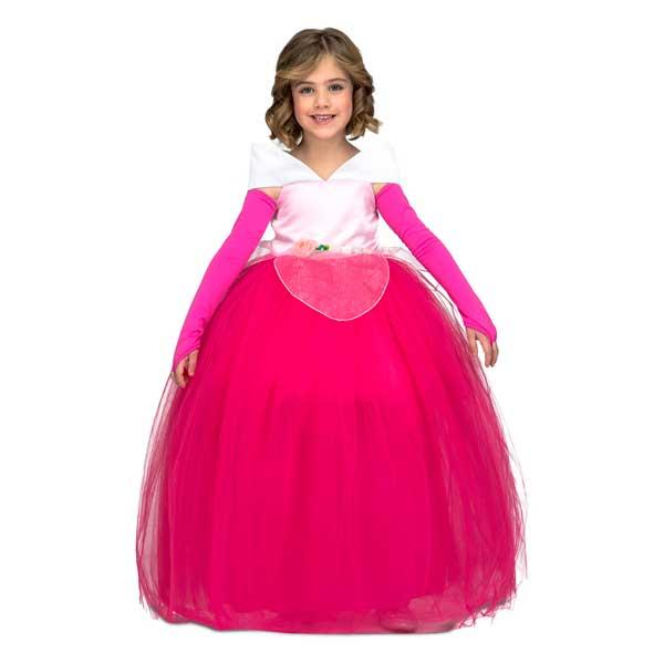Disfraz Princesa Tutu Rosa Infantil 5-6 años