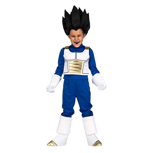 Disfraz Vegeta Dragon Ball Infantil 13-14 años