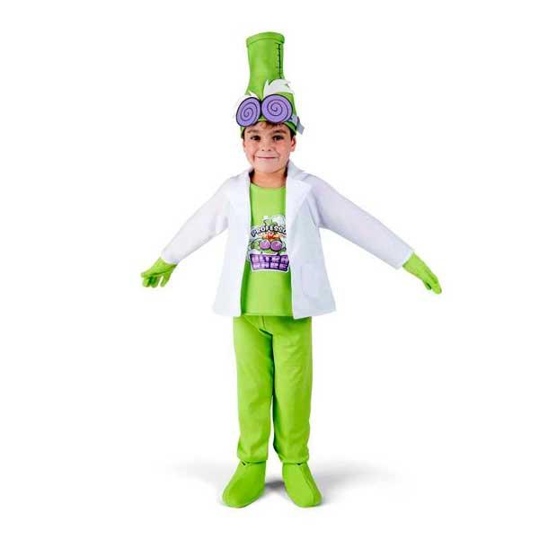 SuperZings Disfraz Infantil Professor K 4-5 años