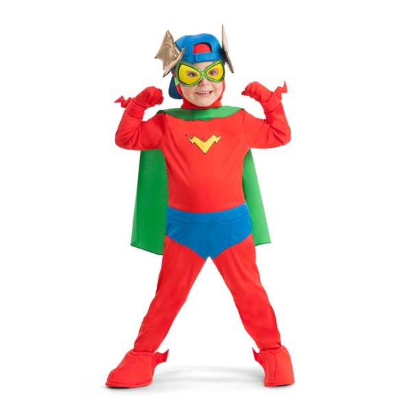 SuperZings Disfraz Infantil Kid Fury 6-7 años - Imagen 1