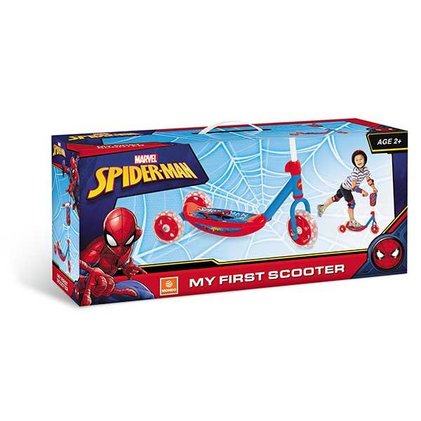 Patinete 3 Ruedas Spiderman Infantil - Imagen 2