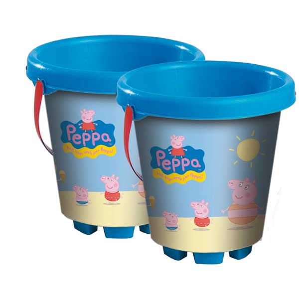 Cubo Playa Peppa Pig Infantil