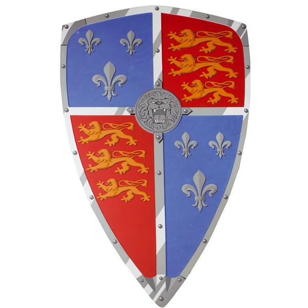 Escudo Medieval Ricardo de León Foam 60cm