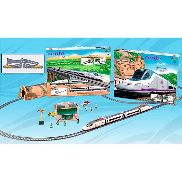 Tren Electrico Infantil AVE Renfe con Diorama - Imagen 2