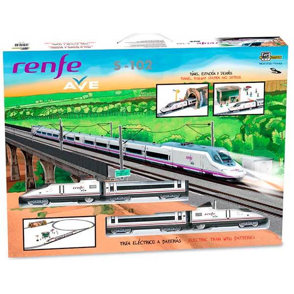Tren Electrico Infantil AVE Renfe con Diorama - Imagen 3
