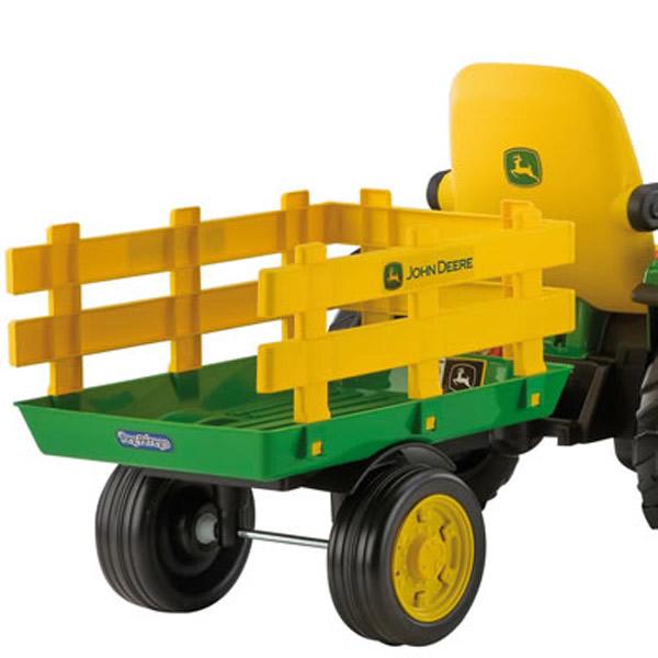 Tractor John Deere con Remolque 12 Voltios - Imatge 5