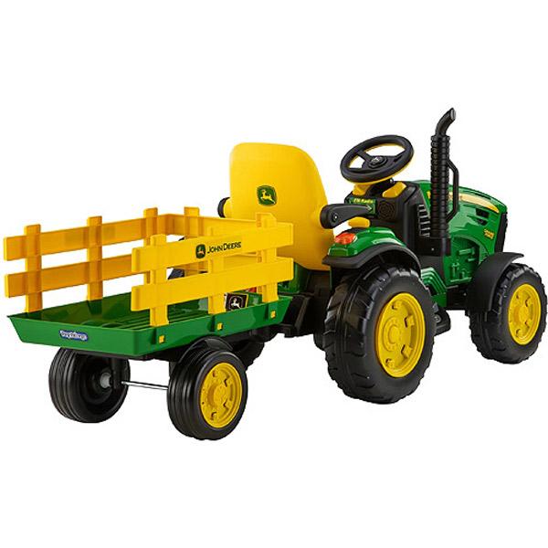 Tractor John Deere con Remolque 12 Voltios - Imatge 6