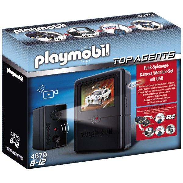 Playmobil Top Agents 4879 Set Cámara de Espionaje