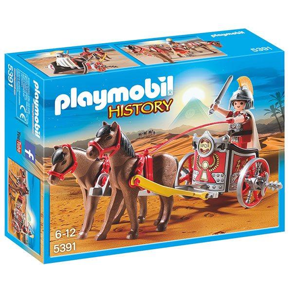 Quadriga Romana Playmobil - Imatge 1