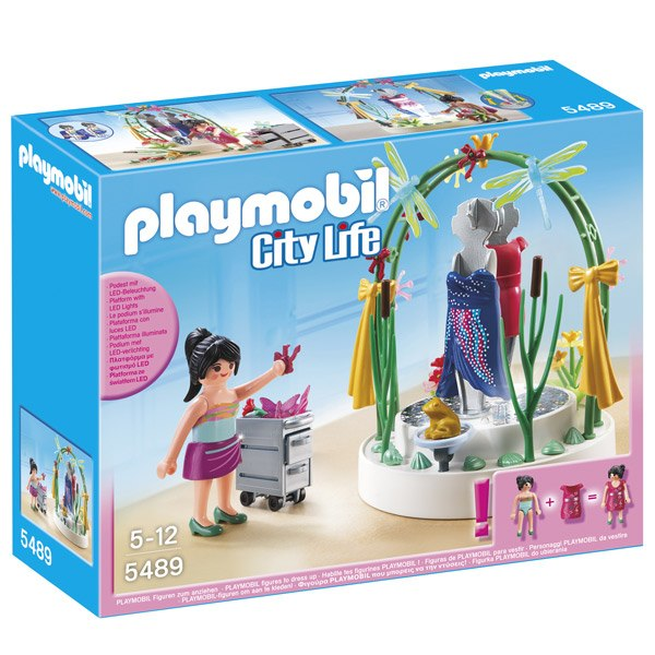 Playmobil City Life 5489 Escaparate con Luces Led