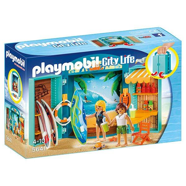 Playmobil City Life 5641 Cofre Tienda de Surf