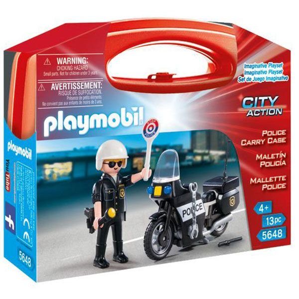 Maleti Policia Playmobil - Imatge 1