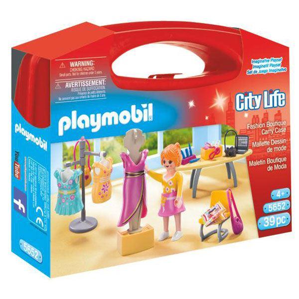 Playmobil City Life 5652 Maletín Grande Moda