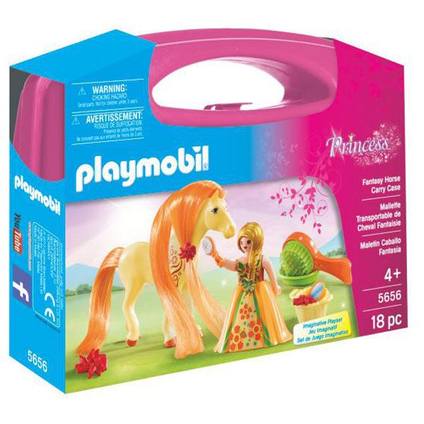Maleti Gran Princesa amb Cavall Playmobil - Imatge 1
