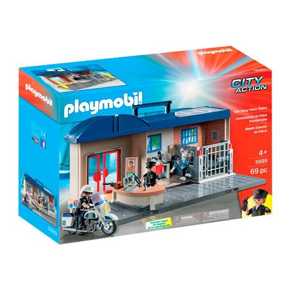Playmobil 5689 Maletín Comisaría de Policía - Imagen 1