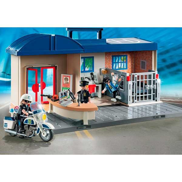 Playmobil 5689 Maletín Comisaría de Policía - Imagen 2